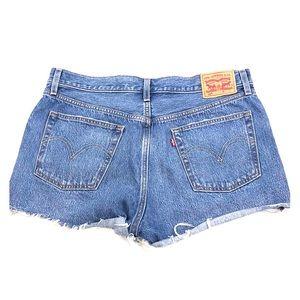 Levi's Cutoff Jean Denim Shorts